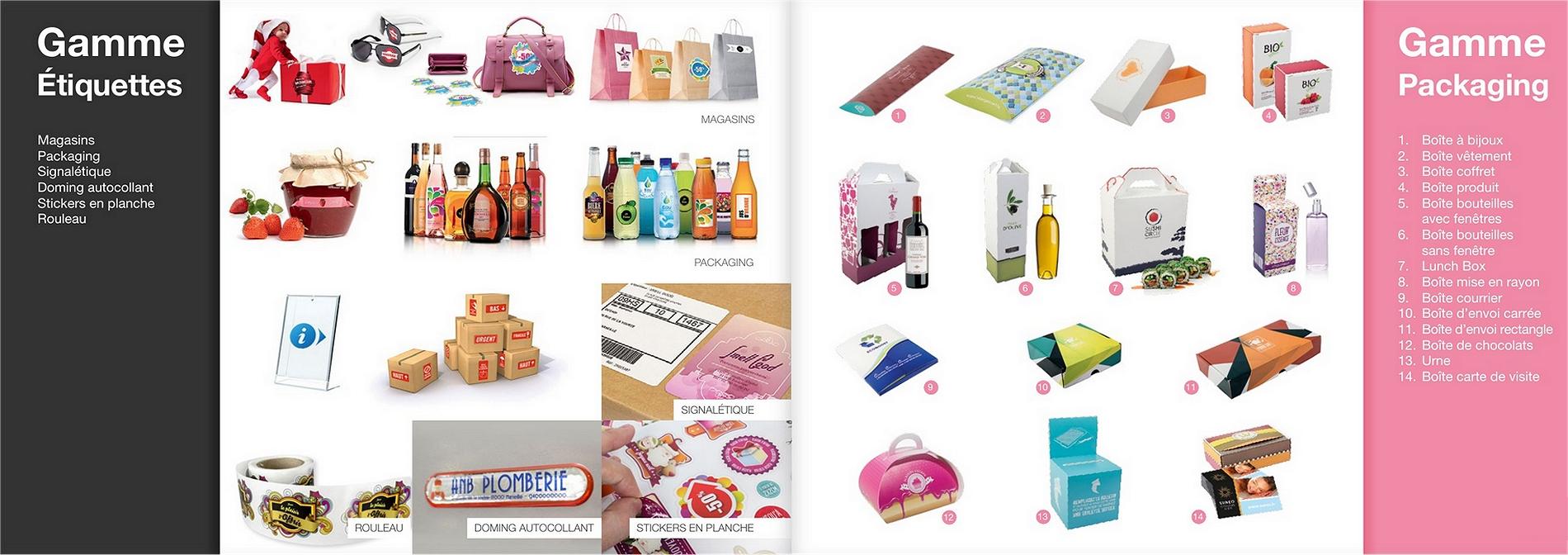 Imprimeur Etiquettes et packaging dans les Yvelines 78